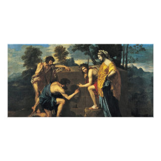 Shepherds In Arcadia (Et In Arcadia Ego), Photo Greeting Card