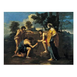 Shepherds In Arcadia (Et In Arcadia Ego), Postcard