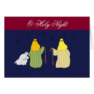 Shepherds in the Fields Card