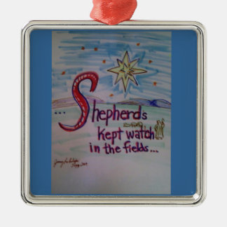 Shepherds Kept Watch Ornament