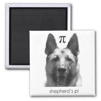 Shepherd's Pi Fridge Magnet