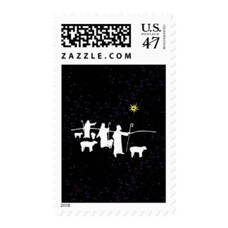 Shepherds See The Star Postage