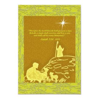 Shepherds Silhouette Card