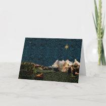 Shepherds Star Greeting Card