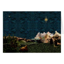 Shepherds Star Greeting Card
