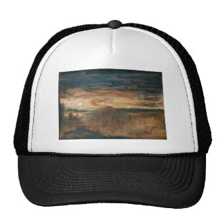 Shepherds Viewing Soldiers by Gustave Moreau Mesh Hat