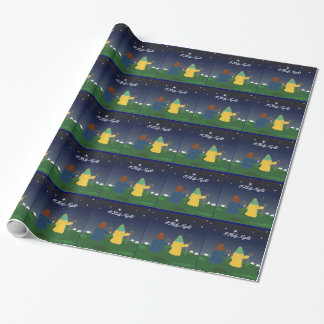 Shepherds with Their Sheep Wrapping Paper