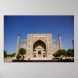 Sher-Dor Madrasah: Facade Print
