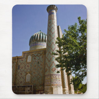 Sher-Dor Madrasah: Minaret DSC2865 Mouse Pad