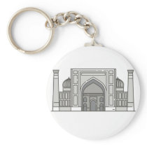 Sher Dor Madrasah World landmarks Keychain