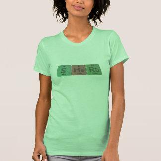 Shera como radio del helio del azufre t-shirt