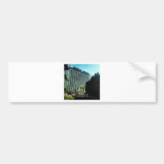 sheraton universal hotel studios LA Bumper Stickers