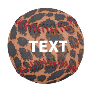 Sherbert Black Cheetah Baseball