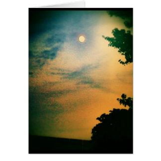 Sherbert Sunset Card