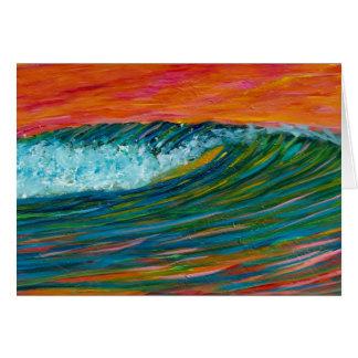 Sherbert Wave Card