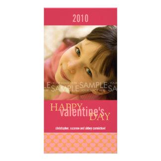 Sherbet Hearts :: Valentine's Day Photocard Customized Photo Card