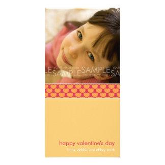 Sherbet Hearts :: Valentine's Day Photocard Custom Photo Card