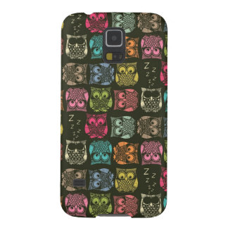 sherbet owls galaxy s5 case