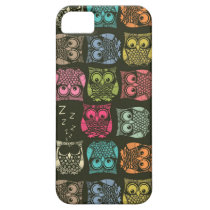 sherbet owls iPhone SE/5/5s case