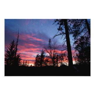 Sherbet Sunset Photographic Print
