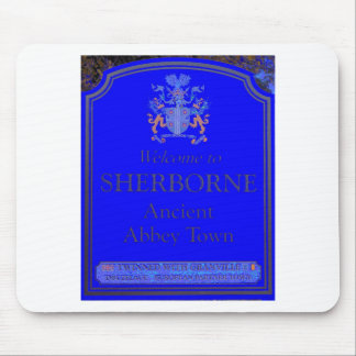 sherborne blue mouse pad