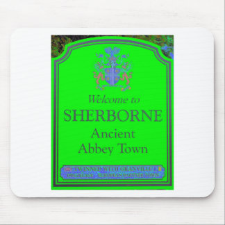sherborne green mouse pad