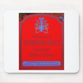 sherborne red mouse pad