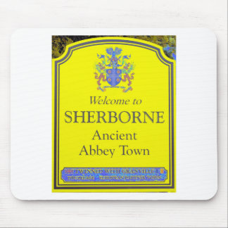 sherborne yellow mouse pad