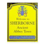 sherborne yellow postcards