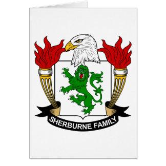 Sherburne Family Crest Card