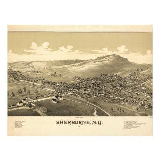 Sherburne New York (1887) Letterhead