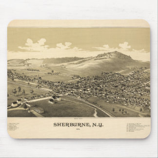 Sherburne New York (1887) Mouse Pad
