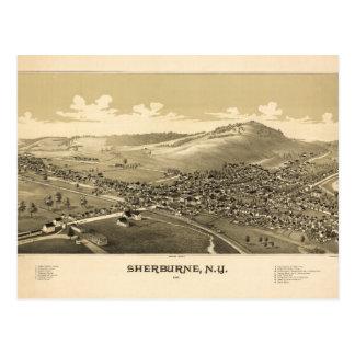 Sherburne New York (1887) Postcard