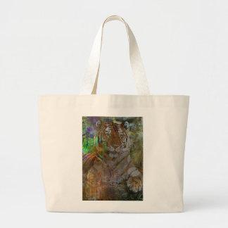 Shere Khan Tote Bags
