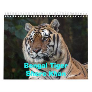 Shere-Khan Calendar, Bengal TigerShere Khan Calendar