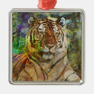 Shere Khan Metal Ornament