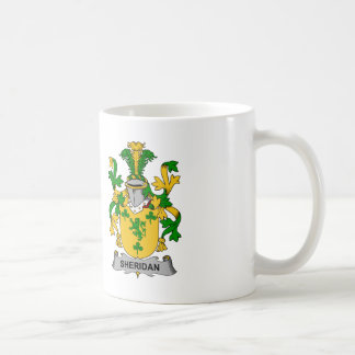 Sheridan Family Crest Coffee Mug