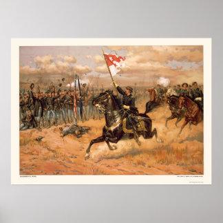 Sheridan s Ride by L Prang Company 1886 Poster