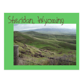Sheridan, Wyoming Postcard