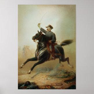 Sheridan's Ride, 1871 Poster