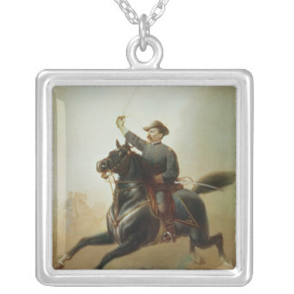 Sheridan's Ride, 1871 Silver Plated Necklace