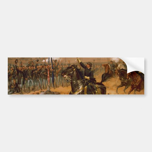 Sheridan's Ride by Thure de Thulstrup Bumper Sticker