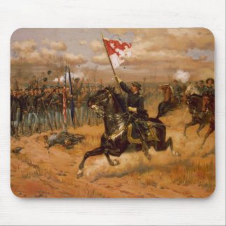 Sheridan's Ride by Thure de Thulstrup Mouse Pad