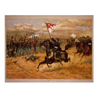 Sheridan's Ride by Thure de Thulstrup Postcard