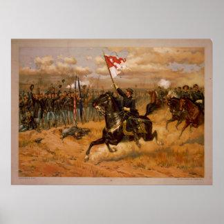 Sheridan's Ride by Thure de Thulstrup Poster