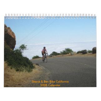 Sherie y bici California de Ben Calendario