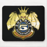 Sheriff Area 5 Badge Mouse Pads