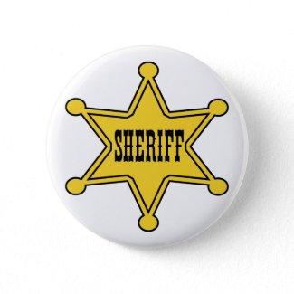 Sheriff Badge button my san antonio