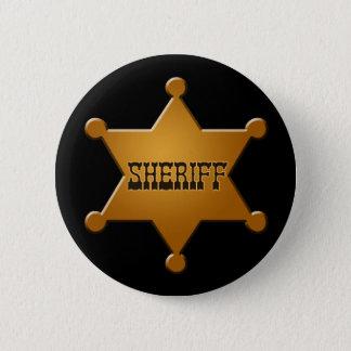 Sheriff Badge - button