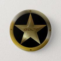 Sheriff Badge Button